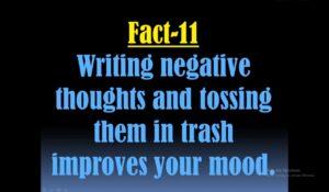 Psychological facts about human behaviour