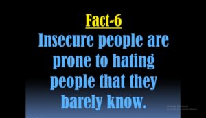 Facts about insecure people